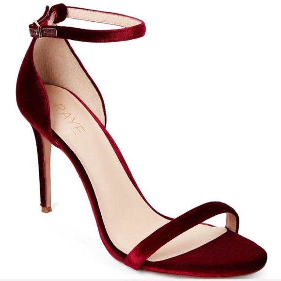 RAYE Shoes - raye brynne velvet stiletto